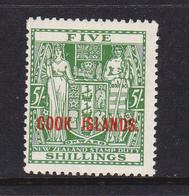 Cook Island  1943 S.Gibbons 132 MNH ** Splendido - Cook