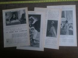 1906 JST LA DAME AUX CAMELIAS FELIX DUQUESNEL EUGENIE DOCHE THEATRE DU VAUDEVILLE - Collections