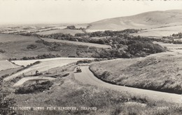 Postcard The South Downs From Hindover Seaford East Sussex RP By Salmon My Ref  B13233 - Other