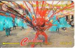 ANTIGUA & BARBUDA(GPT) - 40 Years Of Carnival, CN : 181CATB(Lts, 0 With Barred), Tirage %25000, Used - Antigua En Barbuda