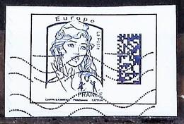 FRANCE-ADHESIF OBLITERE-ANNEE 2016-N°YVERT 1214-1215-1215A-1216-MARIANNE DE CIAPPA-COTE 3.20 EUROS - France