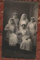 Guerre 1914 1918 Groupe D'infirmières - 1914-18