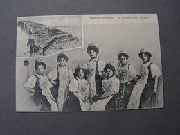 Helgoland , Orchester ..1905  Achtung Karte Gelocht  1905 - Pinneberg