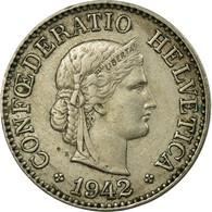 Monnaie, Suisse, 10 Rappen, 1942, Bern, TTB, Copper-nickel, KM:27 - Suisse