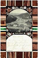 KARLSBAD - Karlovy Vary - Sudeten - Totalansicht - 1907 - Sudeten