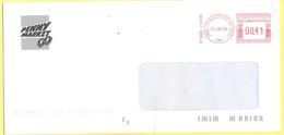 ITALIA - ITALY - ITALIE - 2002 - 00,41 EMA, Red Cancel - Penny Market - Viaggiata Da Cernusco Sul Naviglio Per Lugo - Affrancature Meccaniche Rosse (EMA)