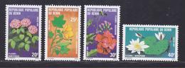 BENIN N°  444 à 447 ** MNH Neufs Sans Charnière, TB (D9000) Fleurs Du Bénin - 1979 - Bénin – Dahomey (1960-...)