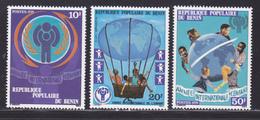 BENIN N°  441 à 443 ** MNH Neufs Sans Charnière, TB (D9001) Année Internationale De L'enfant - 1979 - Benin - Dahomey (1960-...)
