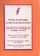 BUVARD. LILLE (NORD) UNION DES AVEUGLES. PRODUITS FLAVIA  Achat Immédiat - Blotters