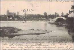 Dole - Ruines D'un Pont Romain Sur Le Doubs (CPA) - Dole