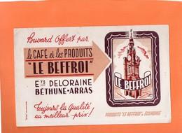"""BUVARD. BETHUNE (P-D-C)  CARE """" LE BEFFROI """"   Achat Immédiat - Café & Thé"""