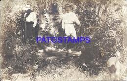 111983 PARAGUAY COSTUMES CAZADORES HUNTER POSTAL POSTCARD - Paraguay