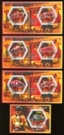 Fire Cars  4 S/s 2015 - Private Issue - Vignettes De Fantaisie