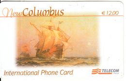 ITALY - New Columbus, Telecom Italia Prepaid Card 12 Euro, Exp.date 30/09/04, Used - Italien