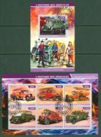 Transport Fire Special Auto CARS 2s/s 2015 - Private Issue - Vignettes De Fantaisie