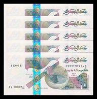 Argelia Lot Bundle 5 Banknotes 500 Dinars 2018 (2019) Pick New Design SCUNC - Argelia