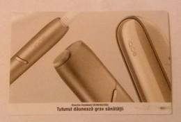 ROMANIA-CIGARETTES  CARD,NOT GOOD SHAPE,0.70 X 0.44 CM - Unclassified