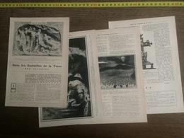 1906 JST DANS LES ENTRAILLES DE LA TERRE SEVERINE CATASTROPHE MINE DE COURRIERES - Collections