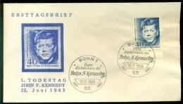 Deutschland 1964 FDC 1. Todestag Kennedy - [7] Federal Republic