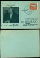 Deutschland 1964 Gedenkkarte Festtage Hering Rudolf Nebel Nummer 3149 - [7] Federal Republic