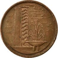 Monnaie, Singapour, Cent, 1979, TTB, Copper Clad Steel, KM:1a - Singapour