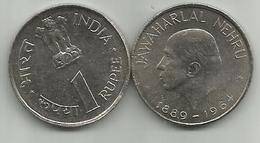 India 1 Rupee 1964. Nehru High Grade - Inde