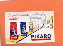 "BUVARD. MARLY-LES-VALENCIENNES (NORD)  CARE "" PIKARO ""   Achat Immédiat - Café & Thé"