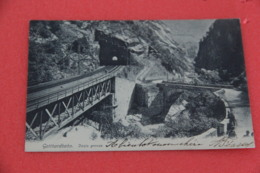 Ticino S. Gottardo Gotthard Bahn Dazio Grande 1904 - TI Tessin