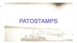 111994 PARAGUAY SHIP VAPOR IGUAZU YEAR 1939 PHOTO NO POSTAL POSTCARD - Paraguay