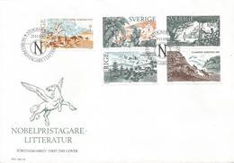 Sweden 1985 Stockholm Nobel Prize Literature Booklet FDC Cover - Nobelprijs