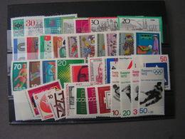 BRD Lot 1972  ** MNH - Lots & Kiloware (max. 999 Stück)