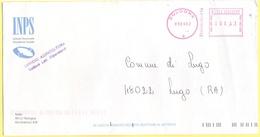 ITALIA - ITALY - ITALIE - 2002 - 00,41EMA, Red Cancel - INPS - Viaggiata Da Bologna Per Lugo - Affrancature Meccaniche Rosse (EMA)