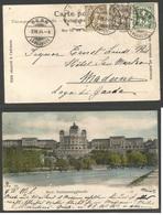 SWITZERLAND. 1904 (7 April) Bern - Italy, Modena, Lagodi Garde. Multifkd Ppc, 10c Rate. Fine. - Switzerland