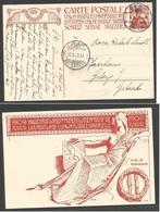 Switzerland - Stationery. 1909 (4 Oct) Bern - Gleis (50ct) 10c. Red Ilustrated Stationary Card. Monument Opening. VF. - Switzerland