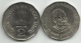 India 2 Rupees 2001. 100th Anniversary Birth Of Dr. Syama P. Mookerjee - Inde