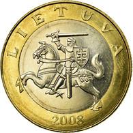 Monnaie, Lithuania, 2 Litai, 2008, TTB, Bi-Metallic, KM:112 - Lituanie