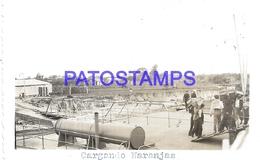 111995 PARAGUAY BELLA VISTA CARGANDO NARANJAS PHOTO NO POSTAL POSTCARD - Paraguay