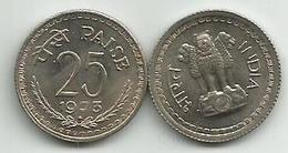 India 25 Paise 1973. - Inde
