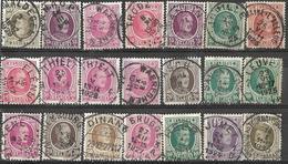 9Ab-984: 21 Zegels .. Verder Uit Te Zoeken.. - 1922-1927 Houyoux