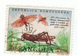 ANGOLA»1963»MICHEL AO 468»USED - Angola