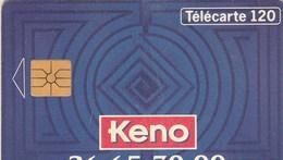 TELECARTE 120... KENO - France