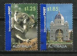 Images D'Australie, 2 Timbres Oblitérés Bonne Qualité, Hautes Faciales, Provenant De Mon Courrier - 2010-... Elizabeth II