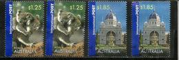 Images D'Australie, 4 Timbres Oblitérés Bonne Qualité, Hautes Faciales, Provenant De Mon Courrier - 2010-... Elizabeth II