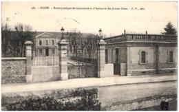 21 DIJON - Ecole Pratique De Commerce Et D'industrie Des Jeunes Gens - Dijon