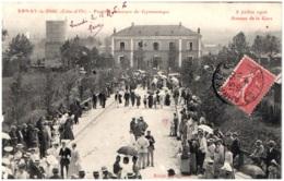 21 ARNAY-le-DUC - Festival-concours De Gymnastique - 8 Juillet 1906 - Avenue De La Gare - Arnay Le Duc