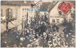 21 ARNAY-le-DUC - Festival-concours De Gymnastique - 8 Juillet 1906 - Carte-photo - Arnay Le Duc
