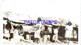 111997 PARAGUAY COSTUMES NATIVE INDIAS LENJUAS DE LAS MISIONES SALECIANAS PHOTO NO POSTAL POSTCARD - Paraguay