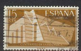 España-Spain. Centenario De La Estadística (o) - Ed 1196, Yv=853, Sc=887, Mi=1093 - 1931-Hoy: 2ª República - ... Juan Carlos I
