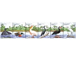 Ref. 148421 * MNH * - GUINEA BISSAU. 2001. BIRDS . AVES - Guinea-Bissau