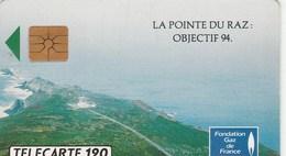 TELECARTE 120... LA POINTE DU RAZ - France